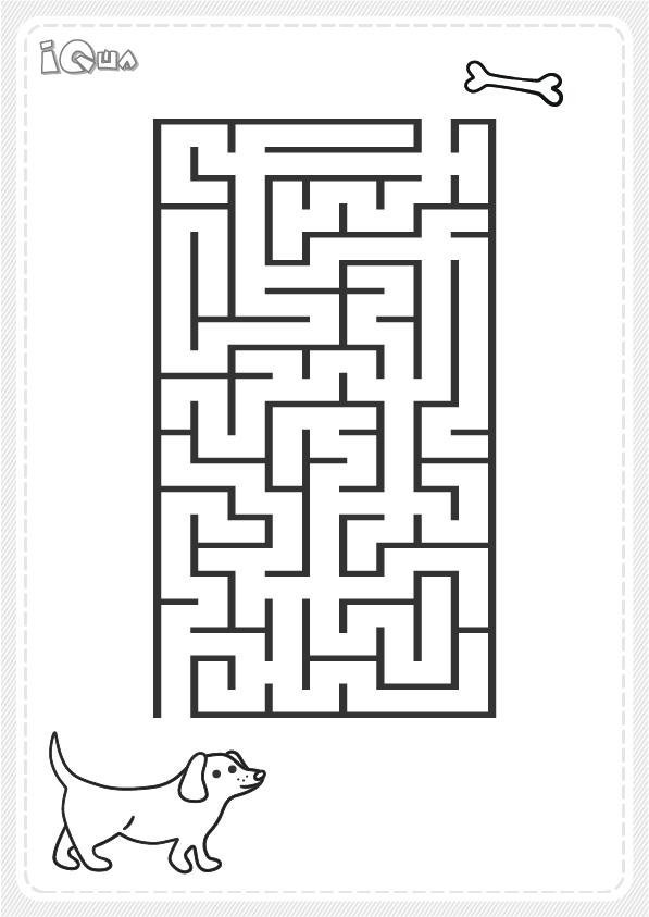 лабиринт для детей простой