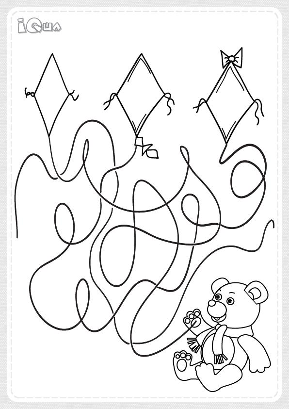 лабиринт детский для 5 6 лет