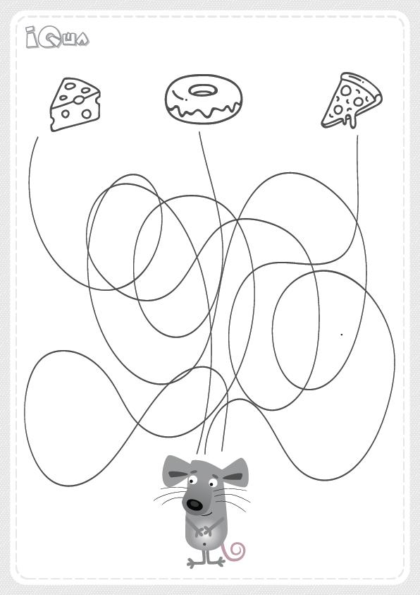 лабиринт детский для 5 лет