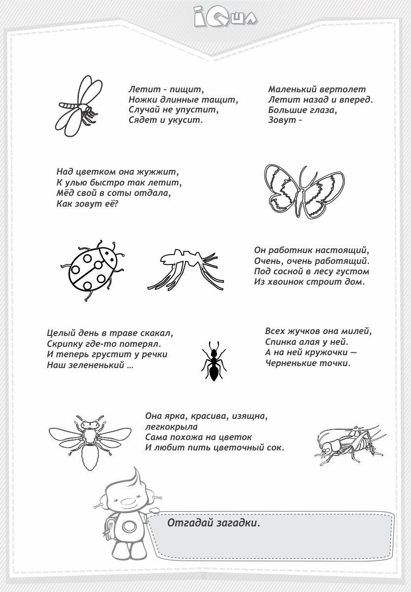 Садовые насекомые